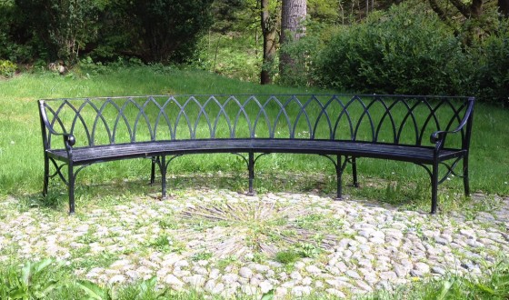 Curved Bench (designed by a customer)