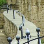 Shaped Handrail (Hathersage) [detail]